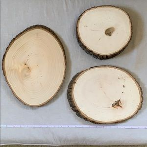 Other - 3 Birchwood Rounds Various Suzes